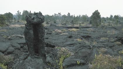 Parkplatz zum Mauna Ulu