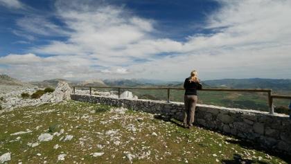 "Aussicht nach Südosten am Aussichtspunkt ""Mirador de Manuel Grajales"""