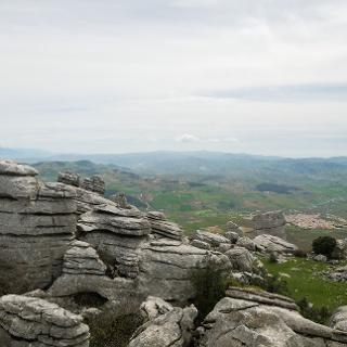 Blick nach Süden vom Aussichtspunkt