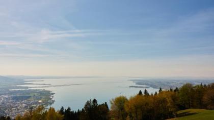 Blick vom Pfänder über den Bodensee