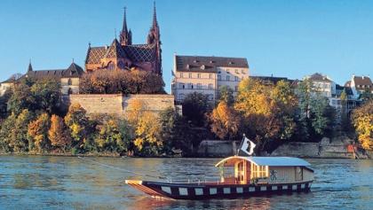 Rhein-Radweg 1 Chur - Basel // Basel