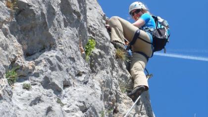 Klettersteig Türkensturz : Pittentaler klettersteig bergsteigen