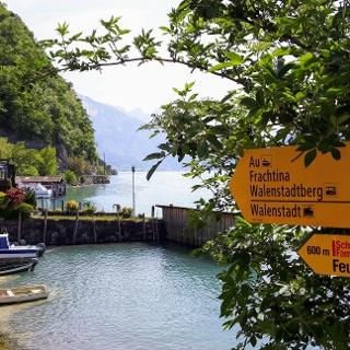 Der Hafen in Quinten