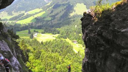 Klettersteig Schnuppertag im bayrischen Voralpenland