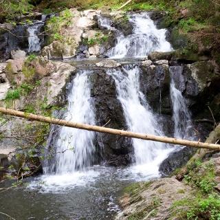 Wasserfall in der Rötenbachschlucht