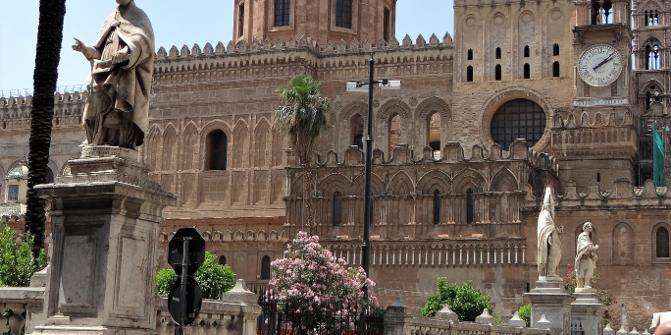 Palermo-von San Lorenzo in die Altstadt und mit TUK-TUK nach ...