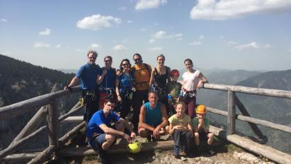 Klettersteig Rax : Wikiloc foto von via ferrata klettersteig königschusswand