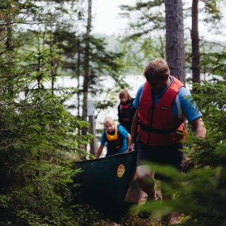 Nuuksio National Park canoeing adventure by Feel the Nature