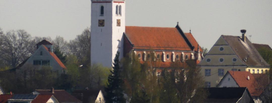 Blick auf Oggelshausen