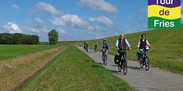 Radtour am Deich in Varel-Dangast