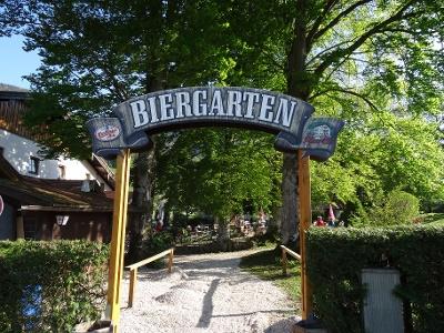 Der Biergarten vom Gasthof Ott