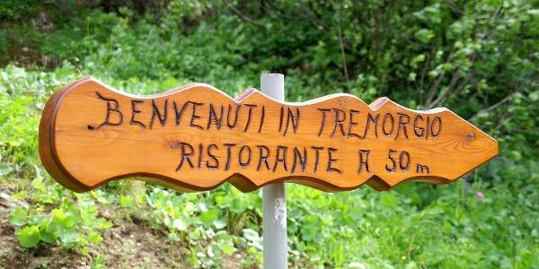 Nicht mehr weit zur Capanna Tremorgio.