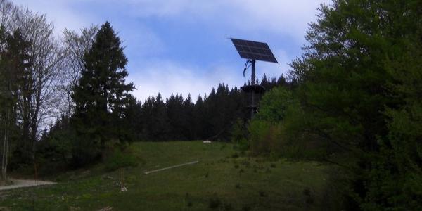 Photovoltaik Anlage bei der Gschwendthütte