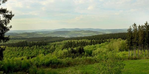 Blick vom Rabenhain-Turm nach Norden