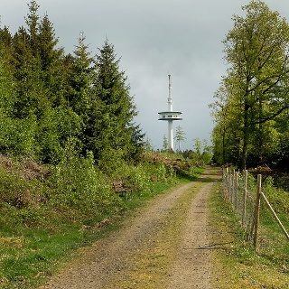 Der Funkturm auf der Eisernhardt