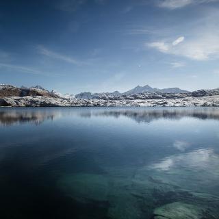 Lac sur le Col du Grimsel