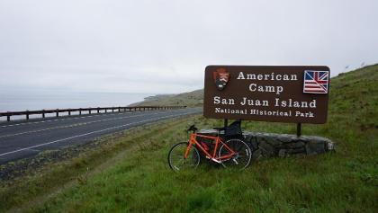 San Juan Historical National Park, American Camp