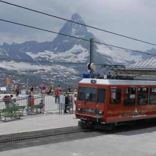Bergstation Gornergratbahn
