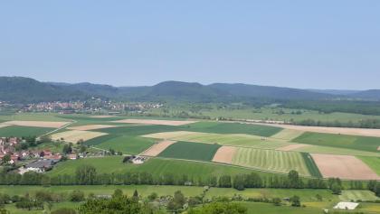 Aussicht vom Bastberg bei Bouxwiller