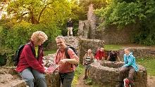 Fränkisch-Crumbach: Burg Rodenstein-Runde - Wanderung auf Ritterspfaden