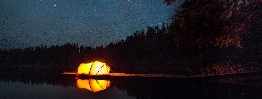 Camping im Repovesi National Park