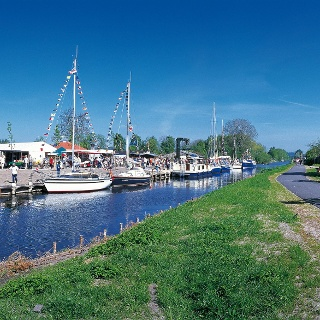 Am Wasserwanderrastplatz Klostereck in Malchin können Tatendurstige einfach vom Boot in den Sattel umsteigen.