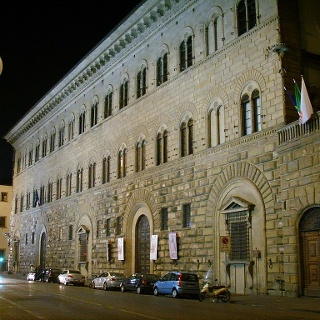 Palazzo Medici Riccardi bei Nacht