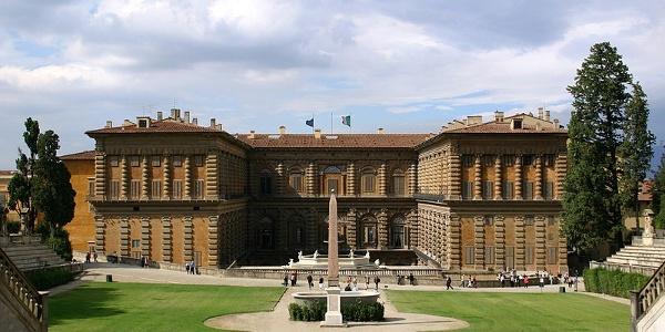 Rückseite Palazzo Pitti