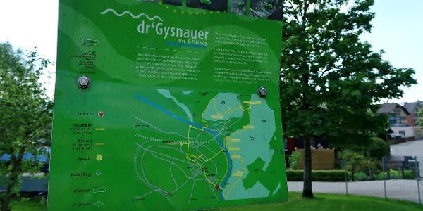 Übersichtstafel «dr'Gysnauer».