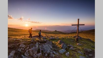 Sonnenaufgang beim Zingerkle Kreuz