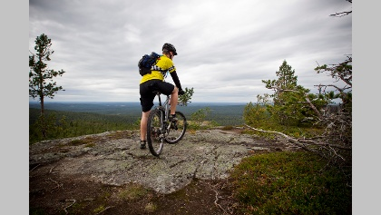 Mountainbiken in Finnland