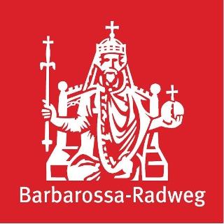 Routenlogo Barbarossa-Radweg