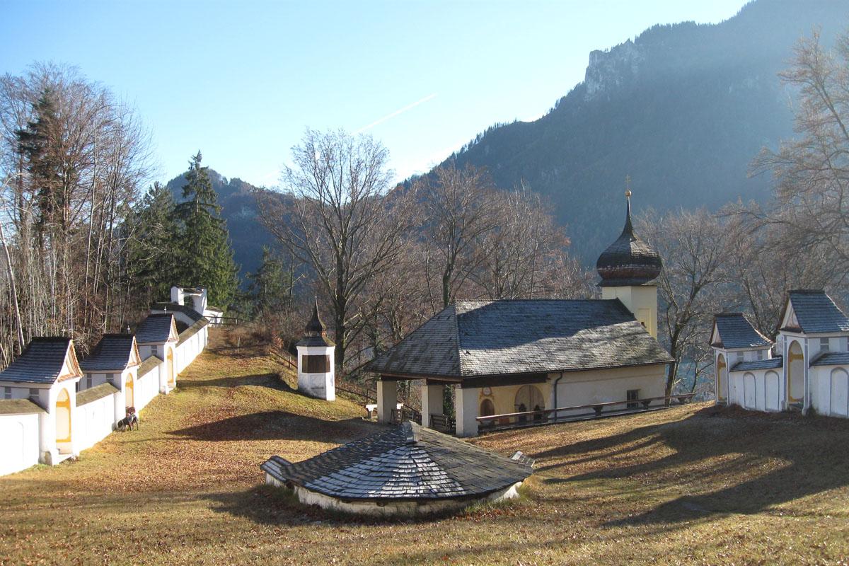 Kirche St. Magdalena auf der Biber