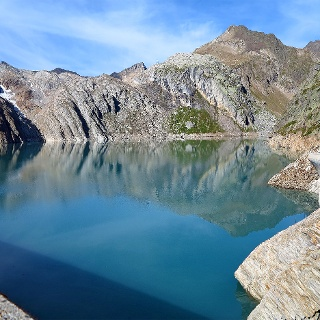 Lago dei Cavagnöö.
