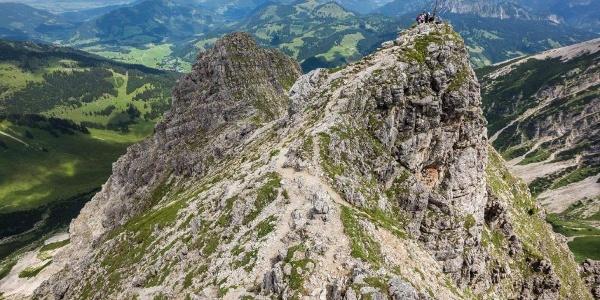 Am Ponten auf über 2000 m.