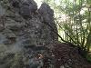 Reste einer Mauer. Experten streiten ob es der Bergfried...   - © Quelle: Antje Kunz