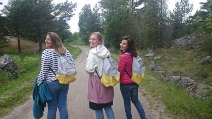 Kolme pyhiinvaeltajaa Korppoossa