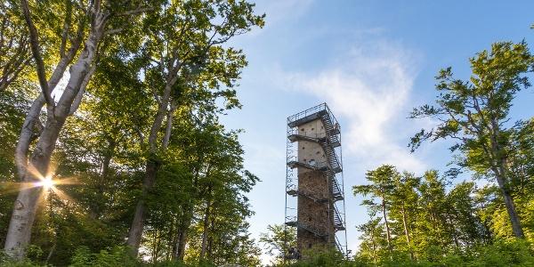 Der Galya-Aussichtsturm auf Péter-hegyese