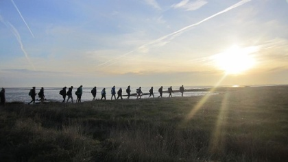 Wandern an der niedersächsischen Nordsee