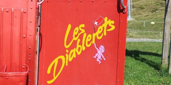 Luftseilbahn Les Diablerets – Isenau.