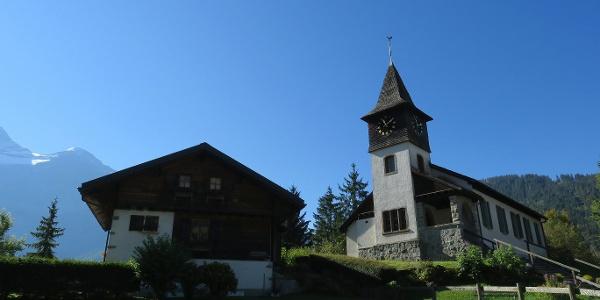 Kirche in Les Diablerets.