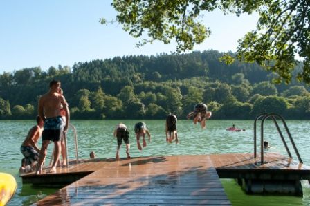 Steg am Steißlinger See