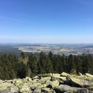 Blick vom Platte-Gipfel