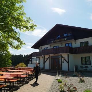 Der Panorama-Gasthof auf dem Auerberg