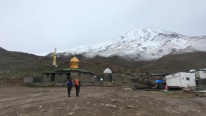 Goosfand Sara mit Moschee Saheb Zaman