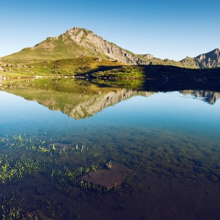 Lac Vert oberhalb von Champéry