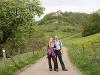 Wanderung auf dem Kochersteig unterhalb Tierberg   - © Quelle: Hohenlohe + Schwäbisch Hall Tourismus e.V.
