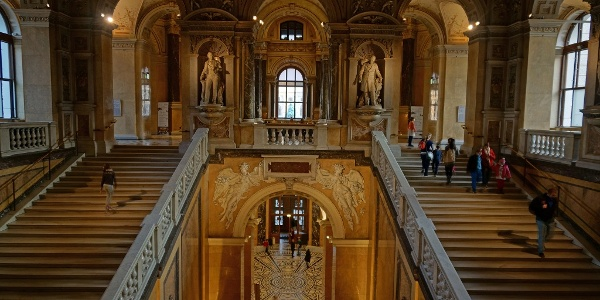 Im Naturhistorischen Museum Wien