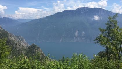 Gipfelaussicht vom Passo Guil