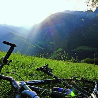 Itinerario bike per Stulles